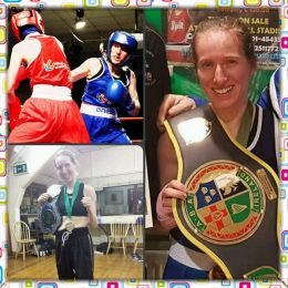 Carol Coughlan - Irish champion