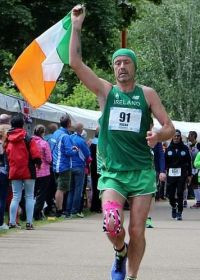 Aidan Hogan - Irish 24 hours running champion