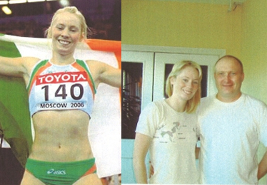 Derval O'Rourke - sprint hurdles World champion
